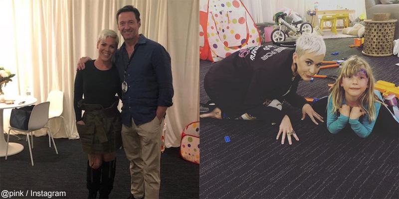 ピンク&ヒュー・ジャックマン / ピンクの娘と、ケイティ・ペリー