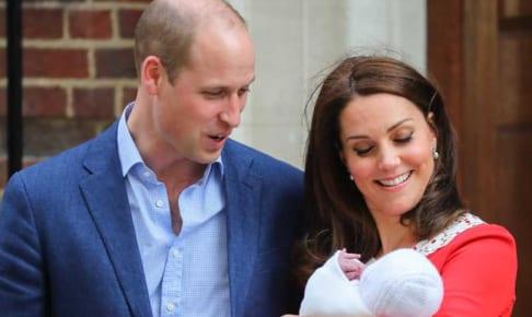 ウィリアム王子とキャサリン妃、ルイ王子